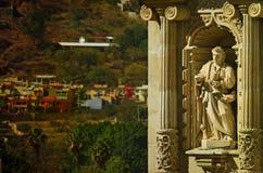 Basílica de nuestra señora de la soledad en Oaxaca de Juarez, México fotos de archivo libres de regalías