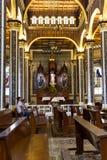 Basílica de Nuestra Señora de los Ángeles -Cartago, Costa Ric. Cartago, Costa Rica - May 21 : Interior view of the Church of Cartago with Royalty Free Stock Photos