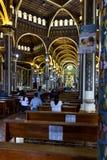 Basílica de Nuestra Señora de los Ángeles -Cartago, Costa Ric. Cartago, Costa Rica - May 21 : Interior view of the Church of Cartago with Stock Photography