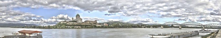 Basílica de Ostrihom Esztergom Foto de archivo libre de regalías