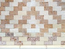 Basílica de Palladian da parede do detalhe em Vicenza fotografia de stock