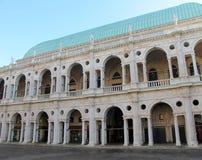 Basílica de Palladian em Vicenza Fotografia de Stock