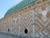Basílica de Palladian na cidade de Vicenza Fotos de Stock Royalty Free