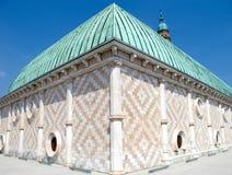 Basílica de Palladian na cidade de Vicenza Fotografia de Stock Royalty Free