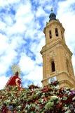 A basílica de Pilars Imagens de Stock