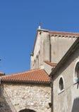 Basílica de Porec Euphrasian na Croácia Imagens de Stock