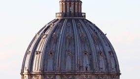 Basílica de Roma StPeters almacen de video