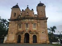 BASÍLICA DE SÃO PEDRO DOS CLÉRIGOS. Basílica de São Pedro dos Clérigos - Mariana - Minas Gerais - Fé - Religião - Templo barroco - Fundada em 1731 Stock Images