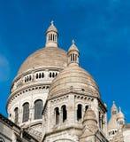 A basílica de Sacré-Coeur imagens de stock royalty free