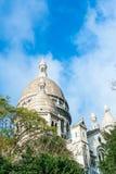 A basílica de Sacré-Coeur foto de stock royalty free