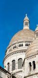 A basílica de Sacré-Coeur fotos de stock
