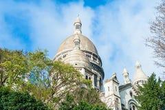 A basílica de Sacré-Coeur imagem de stock royalty free