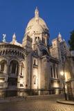 Basílica de Sacré-Coeur em Montmartre, Paris, França fotografia de stock royalty free