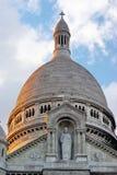 A basílica de Sacre Coeur foto de stock royalty free