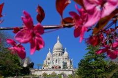 Basílica de Sacre-Coeur em Paris Foto de Stock