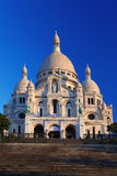 Basílica de Sacre-Coeur en París Imágenes de archivo libres de regalías