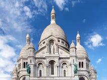 Basílica de Sacre Coeur no monte de Montmartre - Paris, França foto de stock royalty free