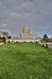 Basílica de Sacre Coeur, París Imagen de archivo libre de regalías