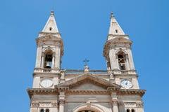 Basílica de Saint Cosmas e Damian Alberobello Puglia Italy Foto de Stock