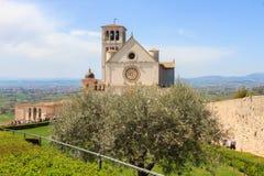 Basílica de Saint Francis de Assisi Imagens de Stock Royalty Free