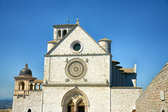 Basílica de San Francisco en Assisi Fotografía de archivo libre de regalías