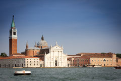 Basílica de San Jorge Maggiore de Andrea Palladio,   Foto de archivo libre de regalías
