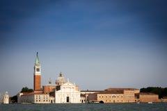 Basílica de San Jorge Maggiore de Andrea Palladio,   Imagen de archivo libre de regalías