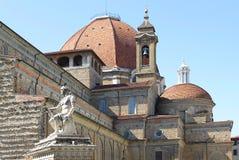 Basílica de San Lorenzo, Florencia fotografía de archivo libre de regalías