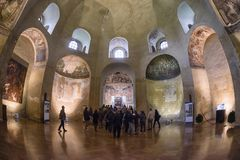 Basílica de San Lorenzo, Milán Fotos de archivo libres de regalías