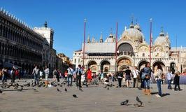 Basílica de San Marco en Venecia Fotos de archivo