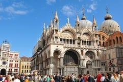 Basílica de San Marco, Venecia Imágenes de archivo libres de regalías