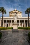 Basílica de San Pablo fuera de las paredes Imagen de archivo libre de regalías