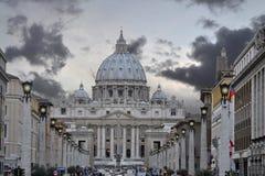 Basílica de San Pedro Fotografía de archivo