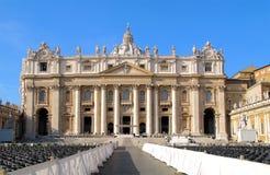 Basílica de San Pedro Imagen de archivo libre de regalías