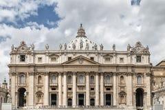 Basílica de San Pedro imagen de archivo
