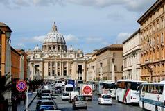 Basílica de San Pedro Foto de archivo libre de regalías
