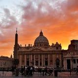 Basílica de San Pedro Fotos de archivo libres de regalías