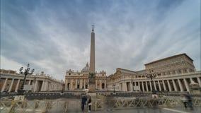 Basílica de San Pedro almacen de metraje de vídeo