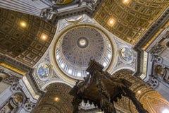 Basílica de San Pedro, Ciudad del Vaticano, Vaticano Imagen de archivo libre de regalías