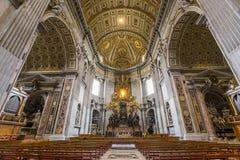 Basílica de San Pedro, Ciudad del Vaticano, Vaticano Imagen de archivo