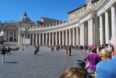 Basílica de San Pedro en la ciudad del Vaticano en Roma Foto de archivo