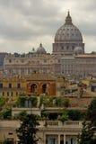 Basílica de San Pedro en Roma Foto de archivo libre de regalías