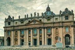Basílica de San Pedro en Roma Fotografía de archivo