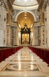 Basílica de San Pedro en Vatican Imagenes de archivo