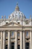 Basílica de San Pedro, Vatican Foto de archivo