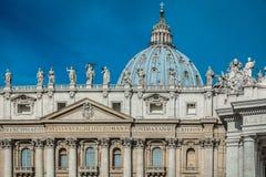 Basílica de San Pedro, Vaticano Imágenes de archivo libres de regalías