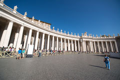 Basílica de San Peter, Roma Fotografia de Stock