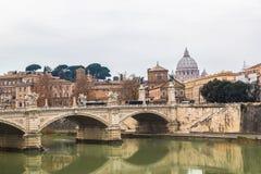 Basílica de San Pietro em Roma, Itália imagem de stock royalty free