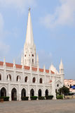 Basílica de San Thome foto de archivo libre de regalías