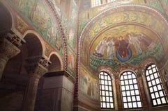 Basílica de San Vitale em Ravenna fotos de stock royalty free